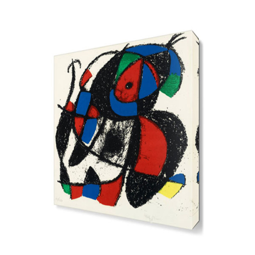 Dekor Sevgisi Joan Miro3 Canvas Tablo 45x30 cm