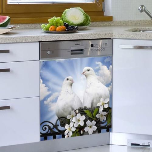 Decor Desing Beyaz Eşya Sticker Bev08