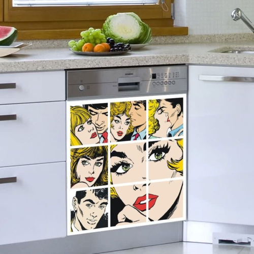 Decor Desing Beyaz Eşya Sticker Bev28