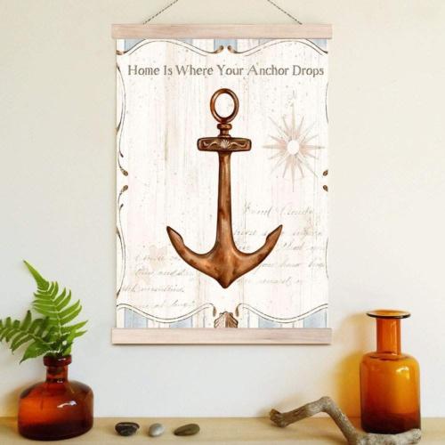 Decor Desing Askılı Deri Duvar Posteri Hak053