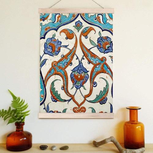 Decor Desing Askılı Deri Duvar Posteri Hak148