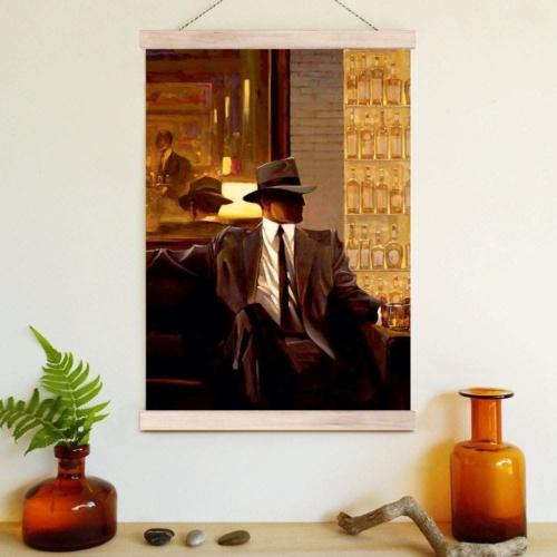 Decor Desing Askılı Deri Duvar Posteri Hak154