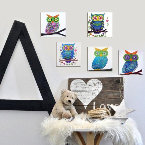 Decor Desing Dekoratif Çocuk Tablo Mtb014