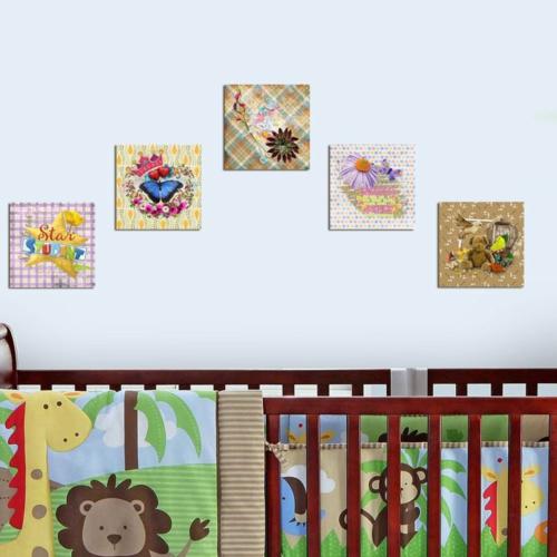 Decor Desing Dekoratif Çocuk Tablo Mtb025