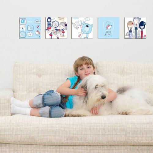 Decor Desing Dekoratif Çocuk Tablo Mtb051