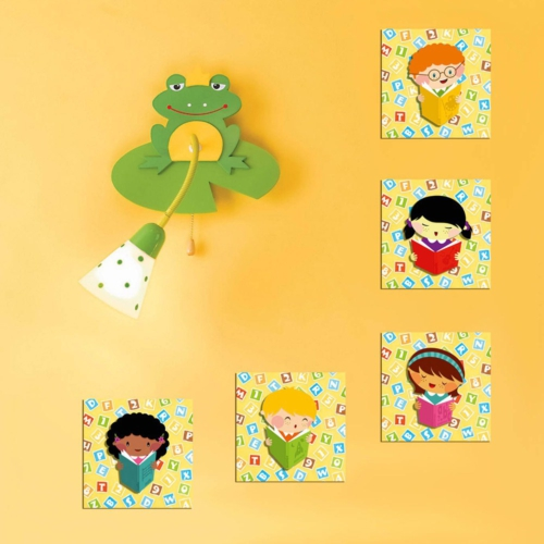 Decor Desing Dekoratif Çocuk Tablo Mtb070