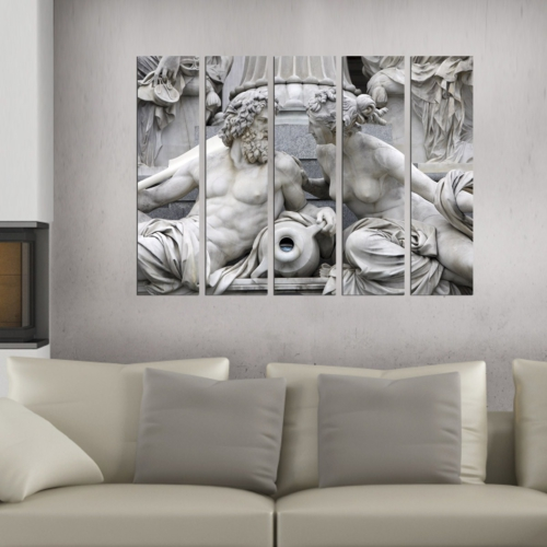 Decor Desing 5 Parçalı Dekoratif Tablo Bsrm011
