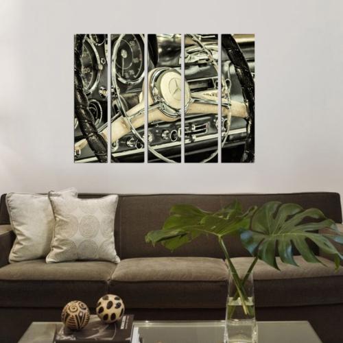 Decor Desing 5 Parçalı Dekoratif Tablo Bsrm033