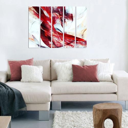 Decor Desing 5 Parçalı Dekoratif Tablo Bsrm039