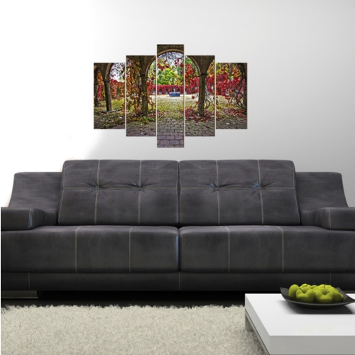 Decor Desing 5 Parçalı Dekoratif Tablo D5Tp16
