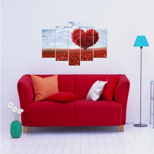 Decor Desing 5 Parçalı Dekoratif Tablo D5Tp84