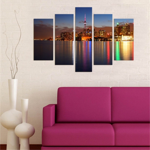 Decor Desing 5 Parçalı Dekoratif Tablo D5Tp134