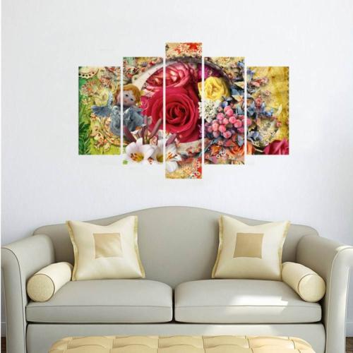 Decor Desing 5 Parçalı Dekoratif Tablo D5Tp153