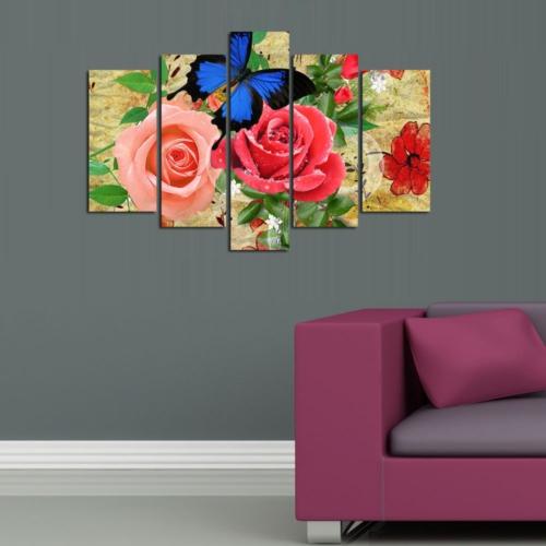 Decor Desing 5 Parçalı Dekoratif Tablo D5Tp165