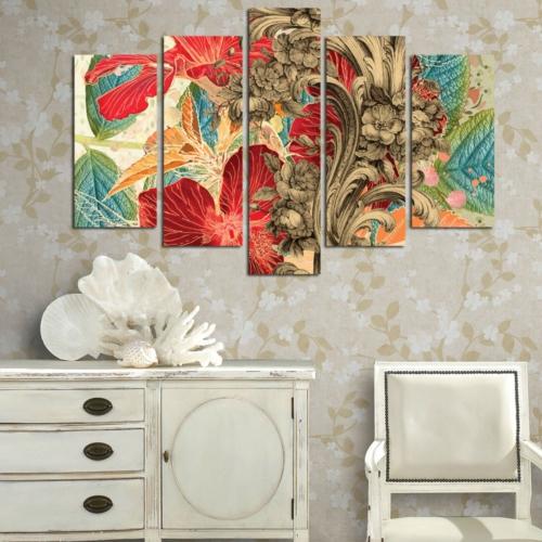 Decor Desing 5 Parçalı Dekoratif Tablo D5Tp169