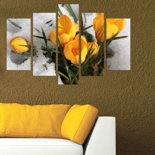 Decor Desing 5 Parçalı Dekoratif Tablo Dec009