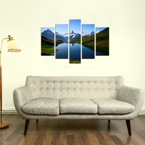 Decor Desing 5 Parçalı Dekoratif Tablo Dec013