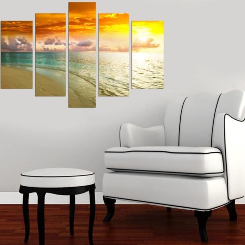 Decor Desing 5 Parçalı Dekoratif Tablo Dec028