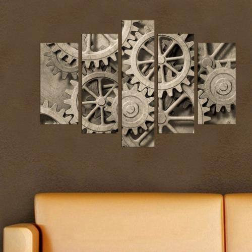 Decor Desing 5 Parçalı Dekoratif Tablo Dec042