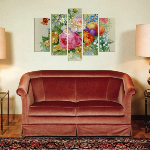 Decor Desing 5 Parçalı Dekoratif Tablo Dec054