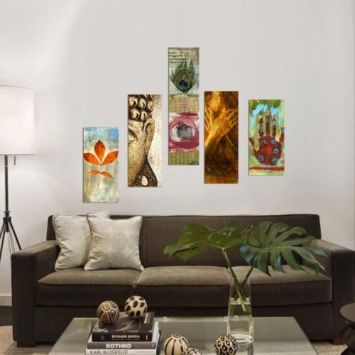 Decor Desing 5 Parçalı Dekoratif Tablo Dec073