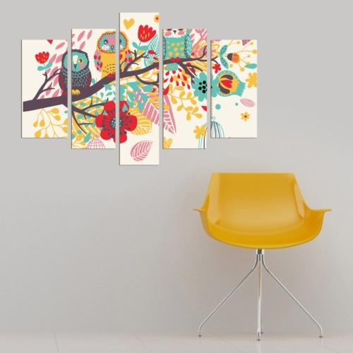 Decor Desing 5 Parçalı Dekoratif Tablo Dec082