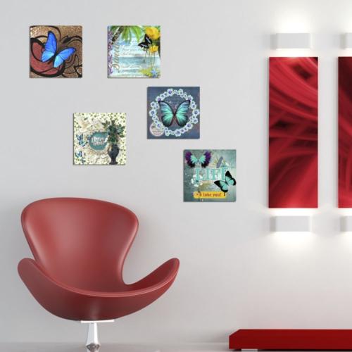 Decor Desing Dekoratif 5'li Tablo Utb20