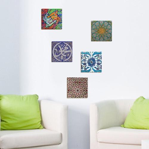 Decor Desing Dekoratif 5'li Tablo Utb110