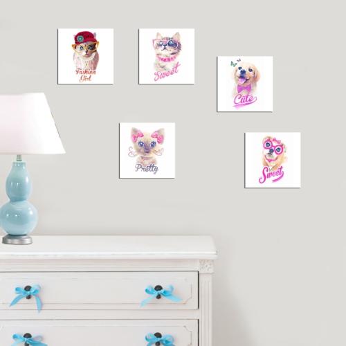 Decor Desing Dekoratif 5'li Tablo Utb141