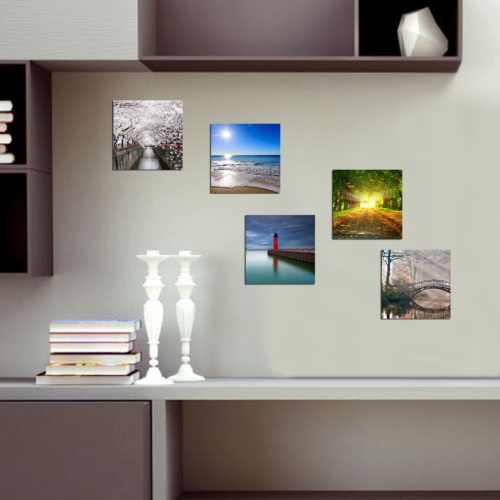 Decor Desing Dekoratif 5'li Tablo Utb150