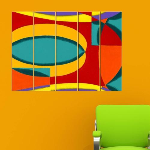 Decor Desing 5 Parçalı Dekoratif Tablo Vsrm003