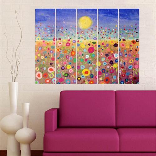 Decor Desing 5 Parçalı Dekoratif Tablo Vsrm030
