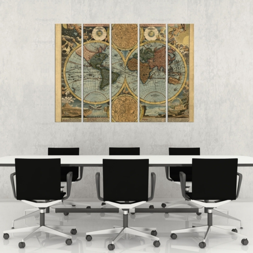Decor Desing 5 Parçalı Dekoratif Tablo Vsrm116