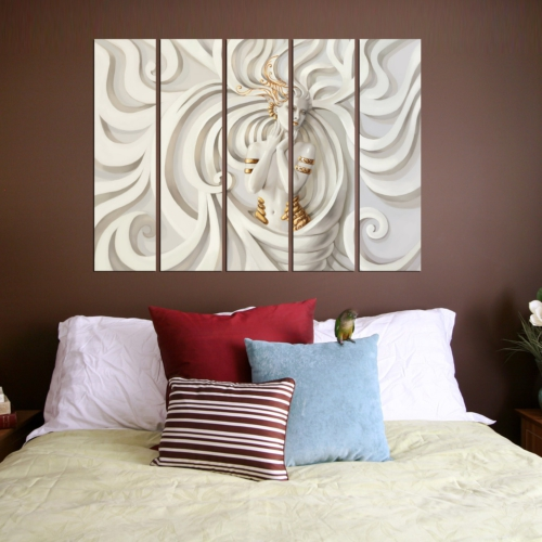 Decor Desing 5 Parçalı Dekoratif Tablo Vsrm133