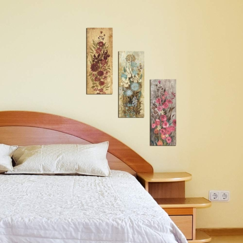 Decor Desing Dekoratif 3'lü Mdf Tablo Xtp157