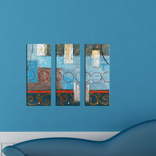 Decor Desing Dekoratif 3'lü Mdf Tablo Xtp160