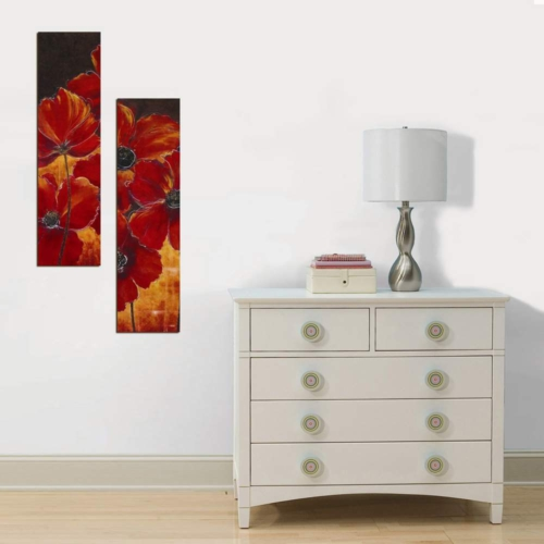 Decor Desing Dekoratif İki Li Mdf Tablo Xtp229