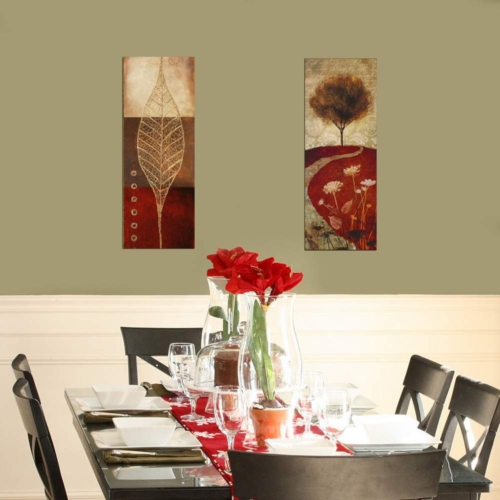 Decor Desing Dekoratif İki Li Mdf Tablo Xtp243