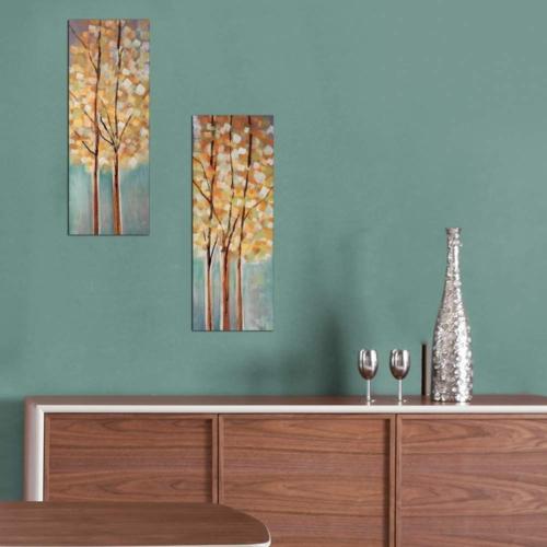 Decor Desing Dekoratif İki Li Mdf Tablo Xtp255