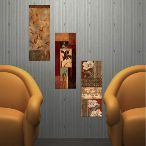 Decor Desing Dekoratif Üç Lü Mdf Tablo Xtp272