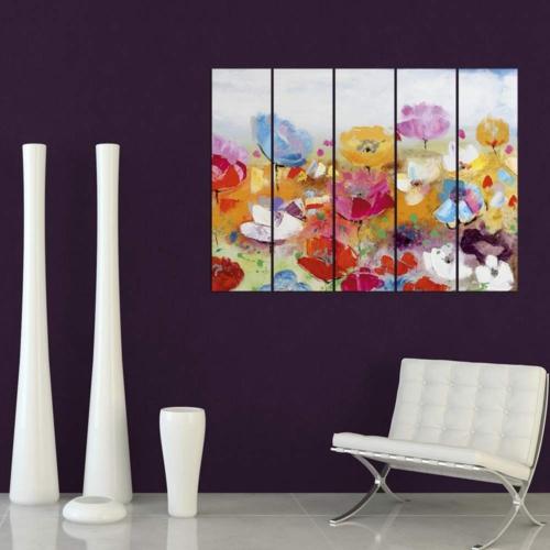 Decor Desing Dekoratif Beş Li Mdf Tablo Xtp302