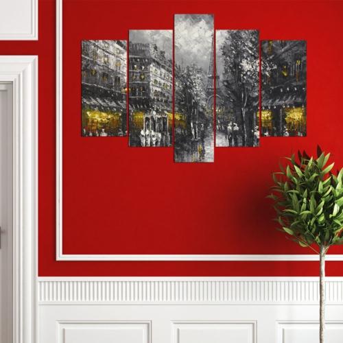 Decor Desing 5 Parçalı Dekoratif Tablo Y5Tp029