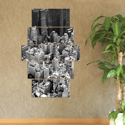 Decor Desing 5 Parçalı Dekoratif Tablo Y5Tp054