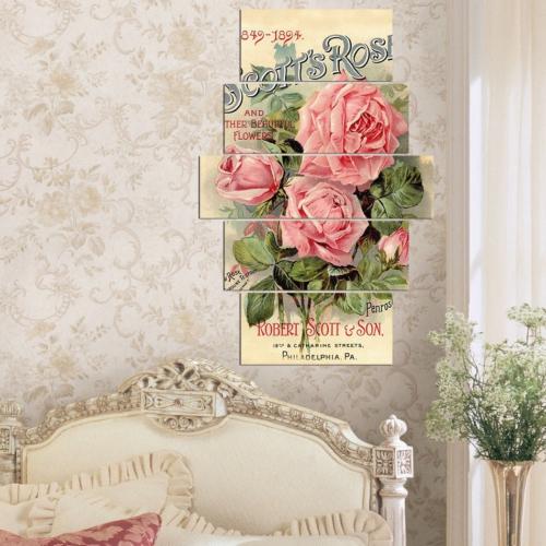 Decor Desing 5 Parçalı Dekoratif Tablo Y5Tp083