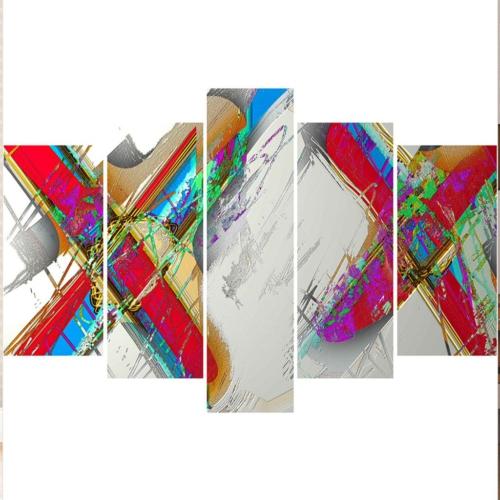 Decor Desing 5 Parçalı Dekoratif Tablo Y5Tp118