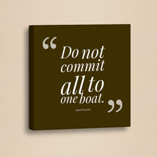 Decor Desing Slogan Kanvas Tablo Slo026