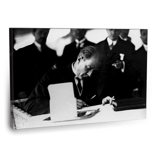Fotografyabaskı Mustafa Kemal Atatürk Tablo 14 75 Cm X 50 Cm Kanvas Tablo