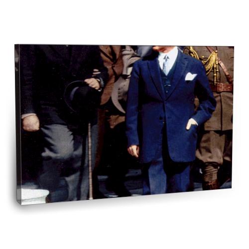 Fotografyabaskı Mustafa Kemal Atatürk Tablo 5 75 Cm X 50 Cm Kanvas Tablo Baskı