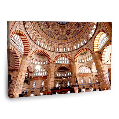 Fotografyabaskı Edirne Selimiye Cami Tablo 75 Cm X 50 Cm Kanvas Tablo Baskı