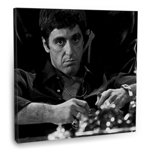 Fotografyabaskı Al Pacino Tablo 70 Cm X 70 Cm Kanvas Tablo Baskı
